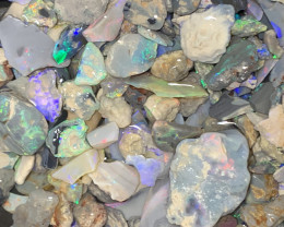 1200 CTs of Beautiful Solid/Natural Lightning Ridge Opals, #840