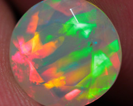 1.48CT  9X9MM Top Quality Welo  Ethiopian Faceted Opal-ECF520