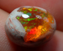 6.70ct Mexican Matrix Cantera Multicoloured Fire Opal