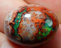 20.76ct Mexican Matrix Cantera Multicoloured Fire Opal