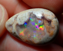 15.51ct Mexican Matrix Cantera Multicoloured Fire Opal