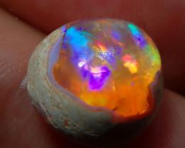 6.50ct Mexican Matrix Cantera Multicoloured Fire Opal
