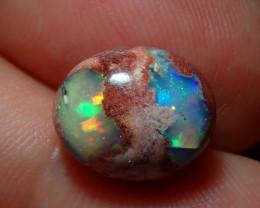 3.85ct Mexican Matrix Cantera Multicoloured Fire Opal