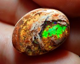 10.05ct Mexican Matrix Cantera Multicoloured Fire Opal