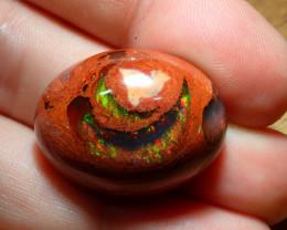 34.99ct Mexican Matrix Cantera Multicoloured Fire Opal