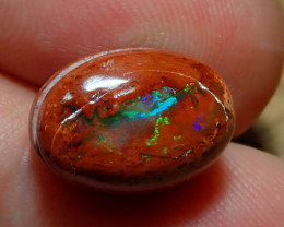 6.31ct Mexican Matrix Cantera Multicoloured Fire Opal