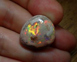 25.20ct Mexican Matrix Cantera Multicoloured Fire Opal