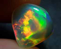 2.11ct. Blazing Welo Solid Opal Carving