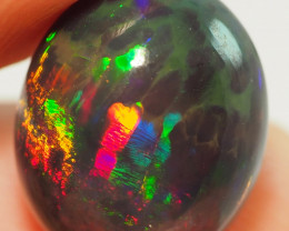 8.04CT ETHOPIAN TREATED OPAL STUNNING PATTERNS NN448