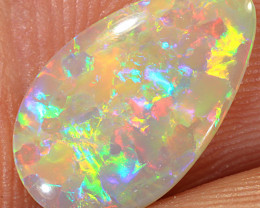 1.05ct 14x8.5mm Solid Lightning Ridge Crystal Opal [LO-1660]