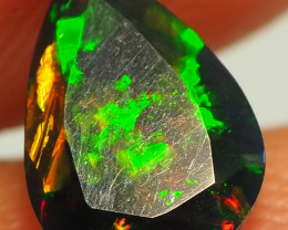 0.80CT ETHOPIAN FACETED TREATED OPAL WITH STUNNING PATTERNS NN499
