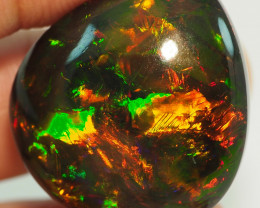 43.30CT ETHOPIAN COLLECTOR  TREATED OPAL STUNNING PATTERNS NN441