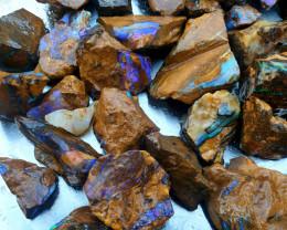 1570 cts Yowah Boulder Opal Rough Parcel #2