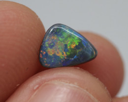 0.68CT Black Opal  Lightning Ridge