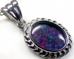 BEAUTIFUL TRIPLET OPAL PENDANT 3.45 CTS QO1680
