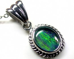 BEAUTIFUL TRIPLET OPAL PENDANT 1.25 CTS QO1683