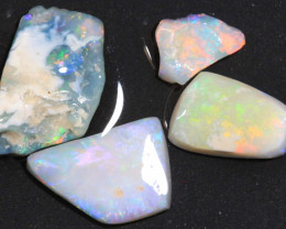 14.80ct  -2#  -  Lightning Ridge Opal Rubs  [22391]
