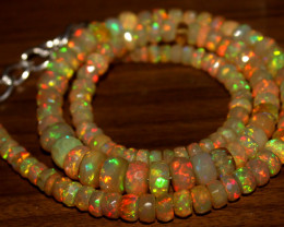 Faceted Ethiopian Opal Beads
