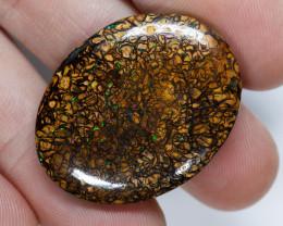 53.6ct Yowah Boulder Matrix Opal, Greens, Natural Australian Solid Opal, Re