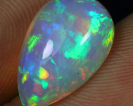 3.80cts Ribbon Pattern Natural Ethiopian Welo Opal