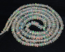 20.00 Ct Natural Ethiopian Welo Opal Beads Play Of Color