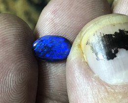 .95ct Lightning Ridge black opal