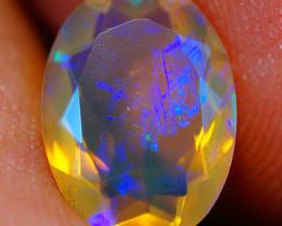 1.85 CT Top Quality Faceted Cut Ethiopian Opal-ECF555