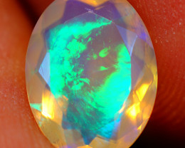 2.10 CT Top Quality Faceted Cut Ethiopian Opal-ECF556
