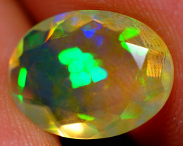 2.10 CT Top Quality Faceted Cut Ethiopian Opal-ECF557