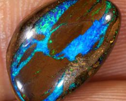 4.9ct 14.5x9.5mm Yowah Boulder Opal Wood Fossil [LOB-2816]