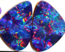 55.68 CTS QUALITY OPAL DOUBLET PAIR INV-1353