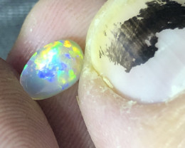 .6ct Lightning Ridge crystal opal