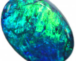 8.62 CTS BLACK OPAL STONE -LIGHTNING RIDGE- [LRO614]TRAY