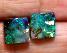5.56 CTS QUALITY BOULDER OPAL STONE PAIR  INV-1371