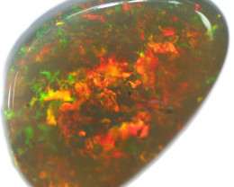 12.95 CTS BLACK OPAL STONE -LIGHTNING RIDGE- [LRO632]tray