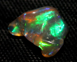 3 Crt Natural Ethiopian FreeForm Welo Fire Opal Carvin 161