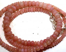49.40 CTS - Pink Opal  Beads Strand     FOB-1882