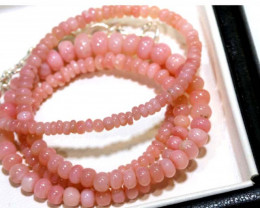 50.55 CTS - Pink Opal  Beads Strand      FOB-1890