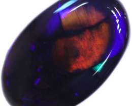 3.54 CTS BLACK OPAL STONE -LIGHTNING RIDGE- [LRO664]