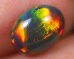 2.18Ct Bright Color Play Ethiopian Welo Opal ER21