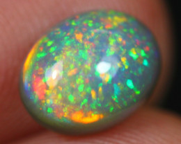 1.69Ct Bright Color Play Ethiopian Welo Opal ER32