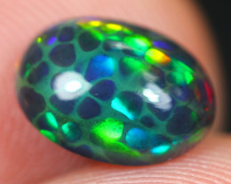 1.32Ct Bright Color Play Ethiopian Welo Opal ER33