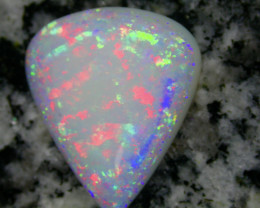 7.1ct HIGHEST QUALITY FULLY SATURATED RARE PATERN TEARDROP OPAL
