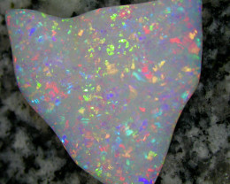 32ct HIGHEST QUALITY 2 SIDED MULTI PATERN 3D NONDIRECTIONAL BRAZILIAN OPAL