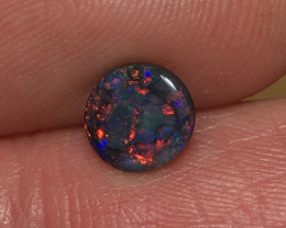 0.71ct Lightning Ridge Black Opal LRS820