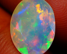 1.78 CT  Top Quality Welo  Ethiopian Faceted Opal-EF17