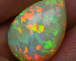 11.35 CRT PERFECT FISH SCALE PATTERN RAINBOW NEON WELO OPAL-
