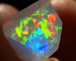 Faceted Mexican 4.375ct Contraluz Opal (OM)