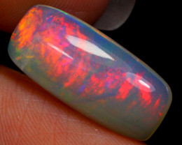 3.03cts  Ethiopian Welo Fully Polished Solid Opal / HJ117