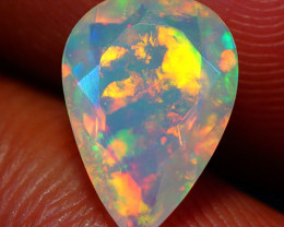 1.36 CT  Top Quality Welo  Ethiopian Faceted Opal-EF85